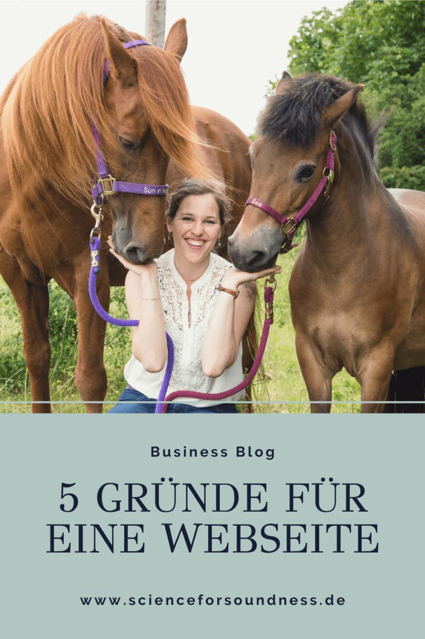Es gibt viele Gründe für eine eigene Business Webseite. Die 5 wichtigsten Gründe sind in diesem Beitrag für dich zusammengefasst.