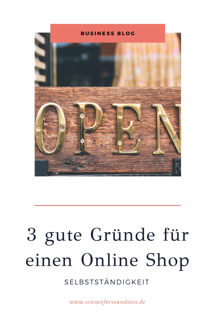 Es gibt viele gute Gründe für einen eigenen Online Shop. Die 3 wichtigsten Gründe für dein Business findest du in diesem Blog Beitrag.